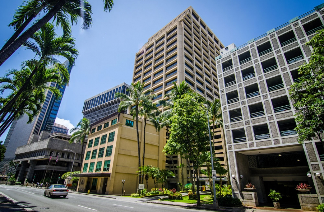 Pioneer Plaza Mw Group Ltd Honolulu Hawaii Real